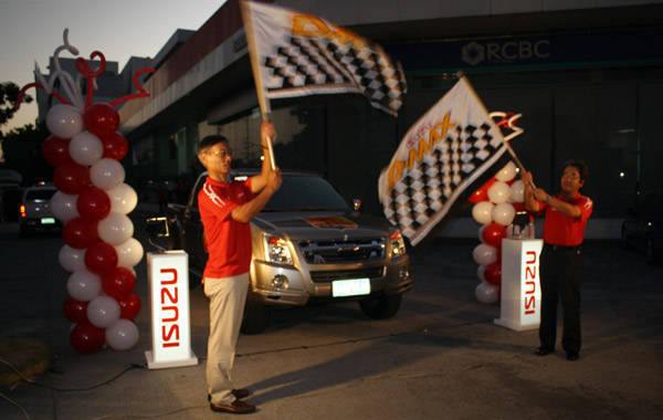Isuzu PH flags off first leg of Isuzu Challenge