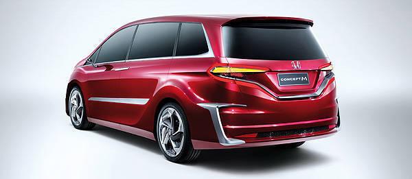 TopGear.com.ph Philippine Car News - Honda reveals MPV concept for China at 2013 Auto Shanghai