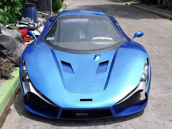 Laguna Based Auto Body Fabricator Comes Up With Supercar Kit