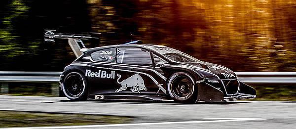 TopGear.com.ph Philippine Car News - Peugeot reveals power, weight of Sebastien Loeb's Pikes Peak car
