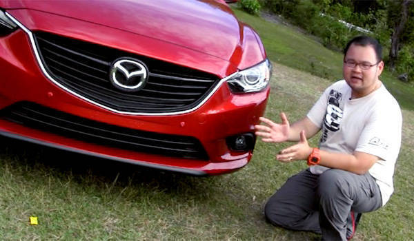 Botchi Santos and the all-new Mazda 6