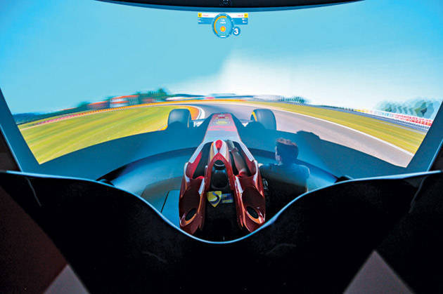 Behind Formula 1: Care to have your own simulator?