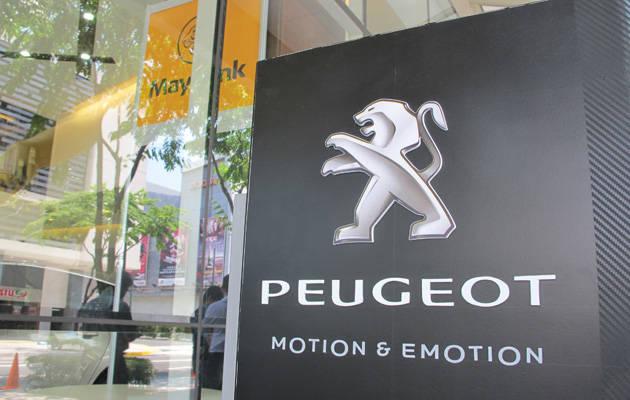 Peugeot at Maybank BGC