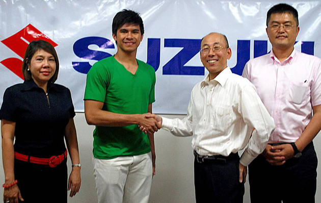 Kiefer Ravena is new Suzuki endorser