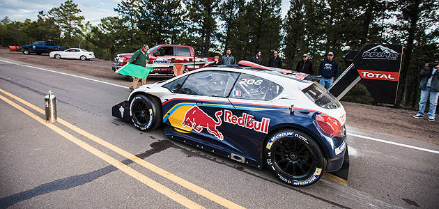 TopGear.com.ph Philippine Car News - Sebastien Loeb tests Peugeot's Pikes Peak car up hill climb course