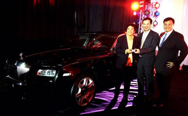 Willie Revillame is Rolls-Royce Motor Cars Manila's first customer