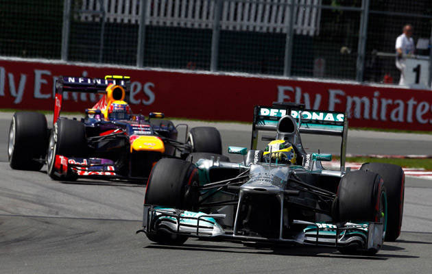 Formula 1 roundup: A minor incident