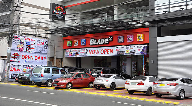 TopGear.com.ph Philippine Car News - Car accessory brand Blade officially opens its first Super Auto Center