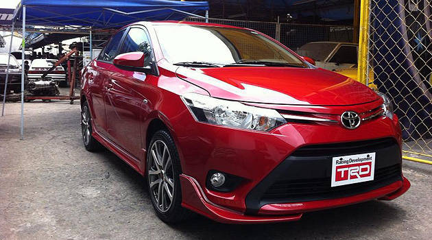 TopGear.com.ph Philippine Car News - Toyota PH to display TRD-kitted all-new Vios at launch