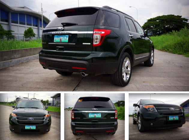 Review: Ford Explorer 2.0L EcoBoost Limited styling