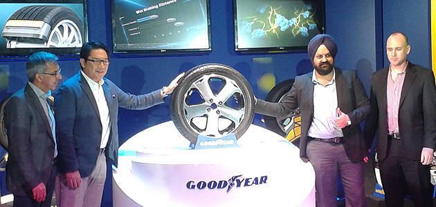 TopGear.com.ph Philippine Car News - Goodyear PH brings in latest wet-weather tire