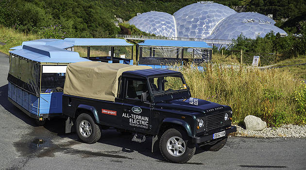 TopGear.com.ph Philippine Car News - Land Rover now testing its first Electric Defender