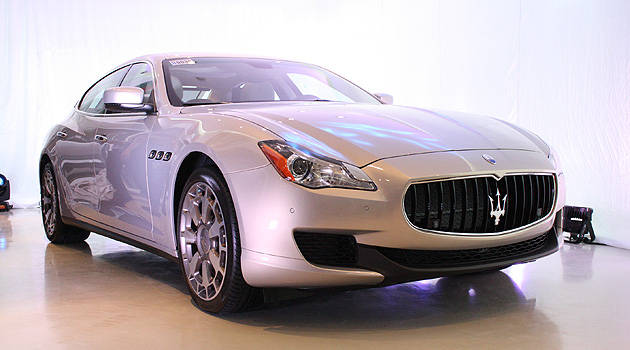 TopGear.com.ph Philippine Car News - All-new Maserati Quattroporte arrives in the Philippines