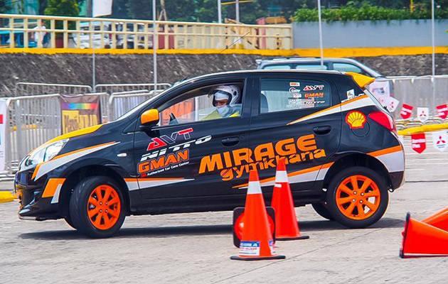 Mitsubishi Mirage Gymkhana