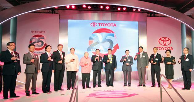 Toyota Motor Philippines' 25th anniversary