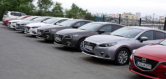 TopGear.com.ph Philippine Car News - Fleet of all-new Mazda 3 set off on Japan to Germany road trip