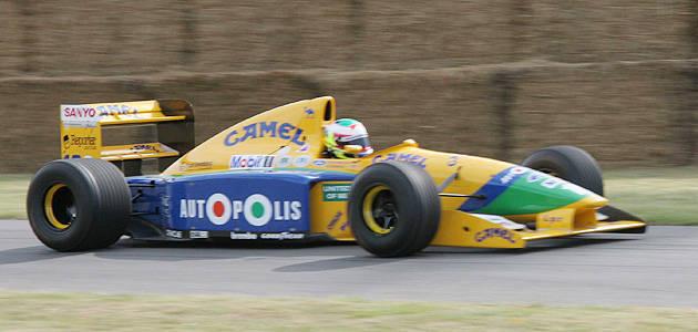 TopGear.com.ph Philippine Car News - Michael Schumacher's first point-scoring F1 car up for auction