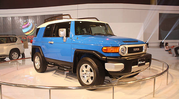 TopGear.com.ph Philippine Car News - Toyota Motor Philippines to bring in FJ Cruiser by October
