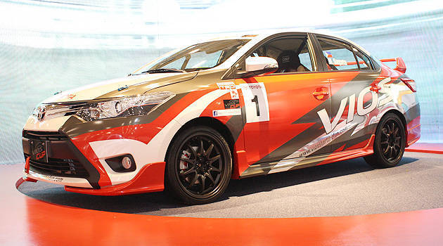 TopGear.com.ph Philippine Car News - Toyota Motor PH to stage Vios one-make race in 2014