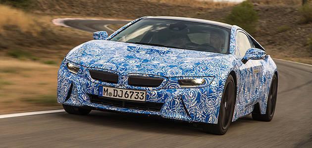 TopGear.com.ph Philippine Car News - Report: Production-model BMW i8 to debut at Frankfurt Auto Show