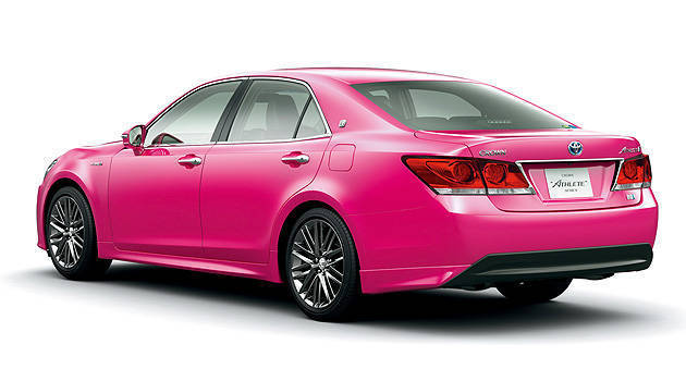 TopGear.com.ph Philippine Car News - Report: Toyota to sell Crown full-size executive sedan in pink