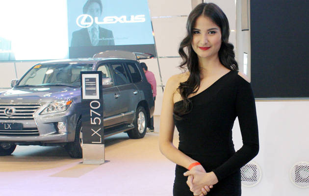 The World of Toyota Motor Show babe