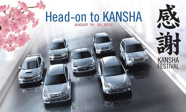 Subaru PH celebrates Kansha Festival
