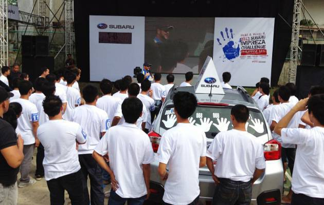 First Subaru Impreza Challenge Davao leg kicks off