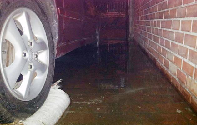 NCR flooding