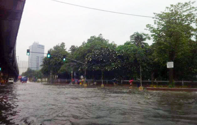 NCR flooding