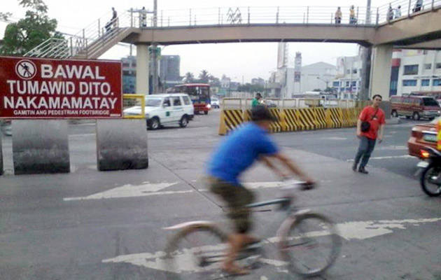 The 10 worst habits of Filipino pedestrians
