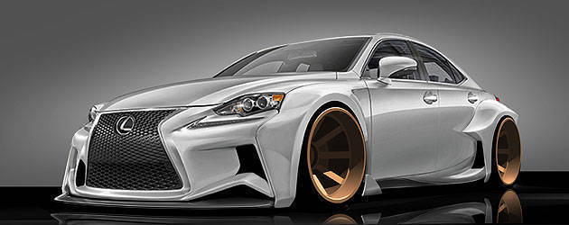 TopGear.com.ph Philippine Car News - Lexus partners with online art community for its 2013 SEMA entry