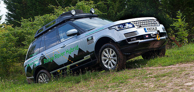TopGear.com.ph Philippine Car News - Land Rover to begin producing hybrid models