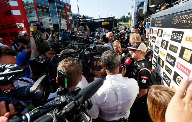 Formula 1 roundup: Iceman in demand