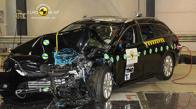 TopGear.com.ph Philippine Car News - Mazda 6 tops latest round of Euro NCAP tests