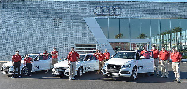 TopGear.com.ph Philippine Car News - Audi attempts LA to NY road trip in 48 hours on four tanks of diesel