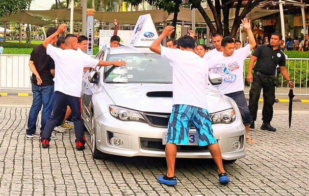 Subaru Impreza Challenge Manila leg