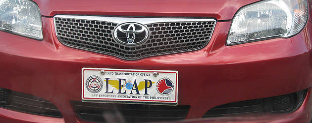 TopGear.com.ph Philippine Car News - LTO chief orders apprehension of vehicles with expired commemorative plates