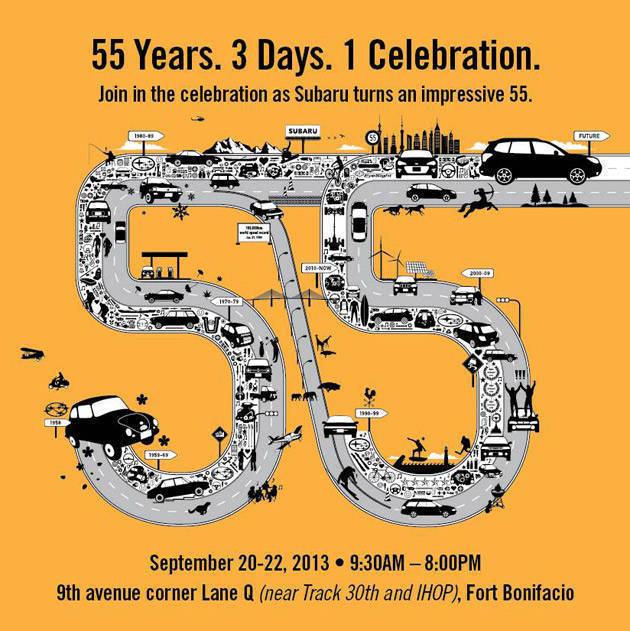 Subaru celebrates 55th anniversary with family-friendly carnival