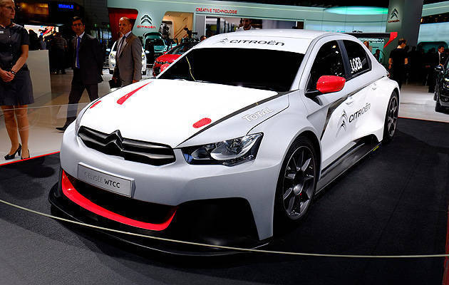 TopGear.com.ph Philippine Car News - Citroen reveals Sebastien Loeb's 2014 WTCC car