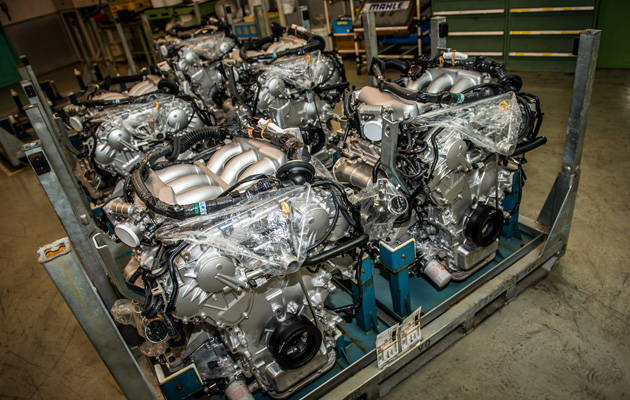 Nissan GT-R engines