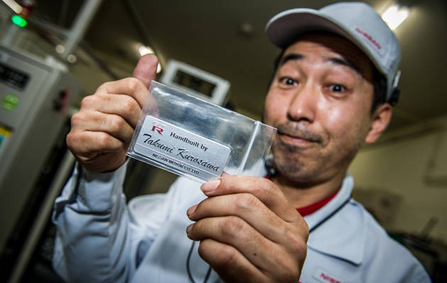Nissan GT-R engine builder Takumi Kurosawa