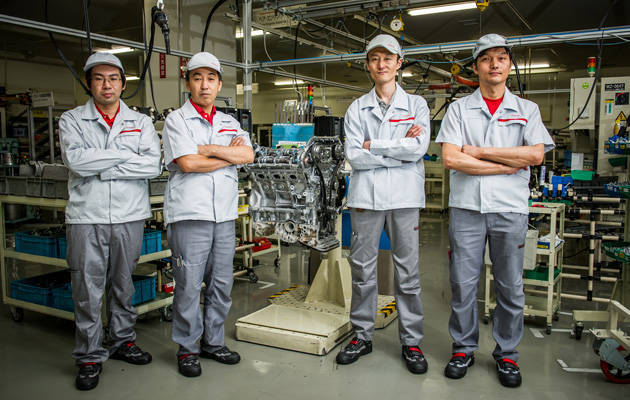 Nissan takumi engine builders