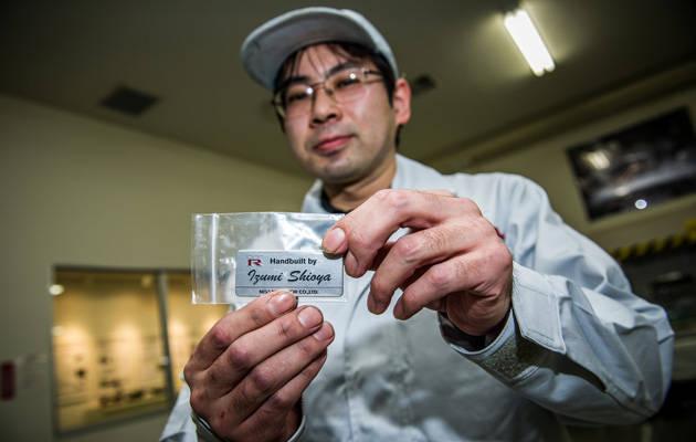 Nissan GT-R engine builder Izumi Shioya