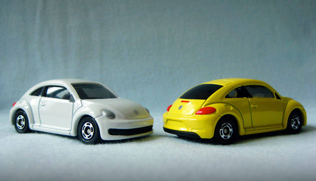 Tomica's latest toy car release in the Philippines is the Beetle
