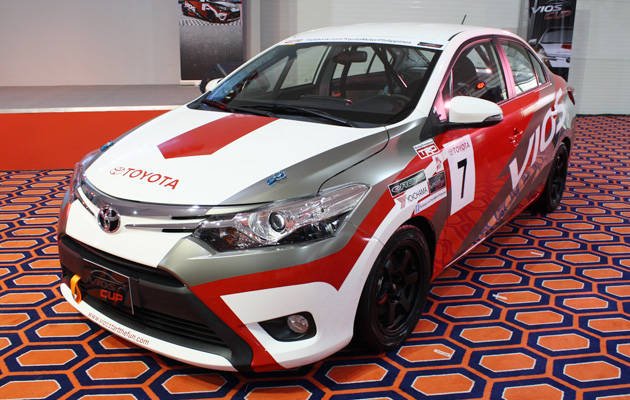 Toyota vios cup racing car