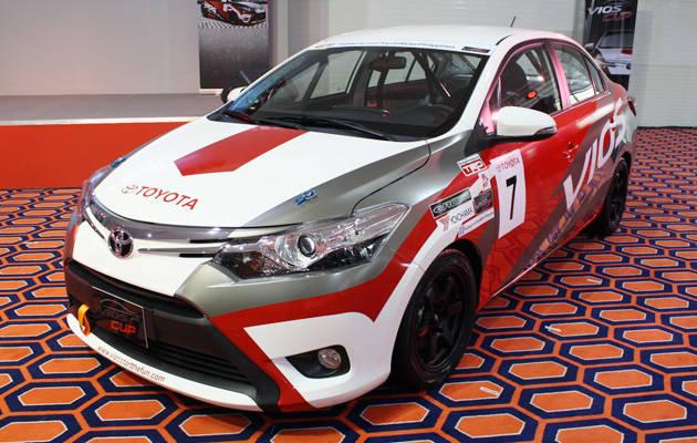 Toyota Vios Cup racing car