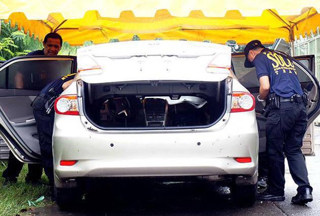 Toyota Altis of the slain Kristelle