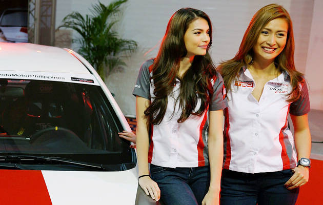 Rhian Ramos and Phoemela Baranda to compete in Vios Cup promotional race