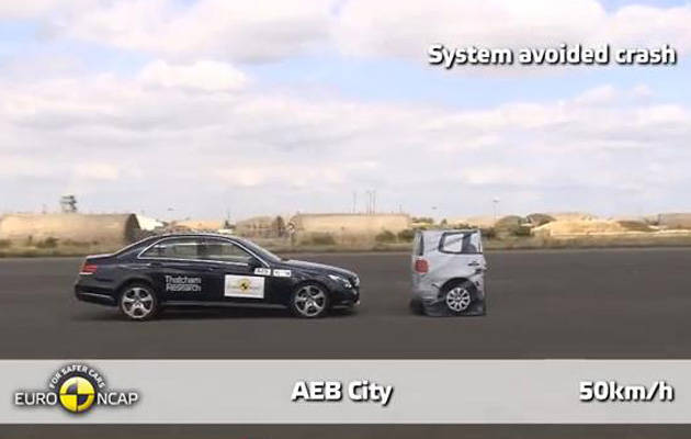 TopGear.com.ph Philippine Car News - Euro NCAP releases result of its first crash avoidance tests